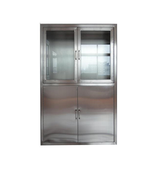 full stainless steel medical cabinet for lab furniture