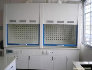 China pp ventilation cabinet  PP lab cabinet    PP lab furniture and fume hood supplier