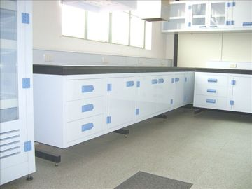 China Perchloric  chemical lab bench furniture,Strong acid and alkali resistant pp lab furniture supplier