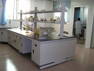 China Polypropylene lab bench and cabinet,acid and alkali resistant pp lab workbench supplier