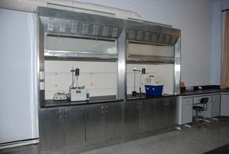 China Stainless steel laboratory fume cabinet china supplier supplier