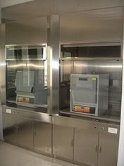 China Stainless steel laboratory fume cabinet supplier