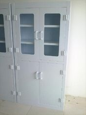 China Four Doors Corrosive Medical Storage Cabinet Big With Adjustable Tray supplier