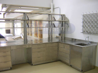China Stainless Steel Lab Casework  furniture | Stainless Lab Cabinets supplier