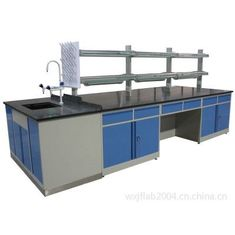 China Steel Wood Structure Island Bench of  Lab Furniture From China supplier supplier