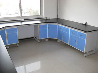 China Corrosion Resistance College Modular Lab Furniture With Steel Frame Cabinet supplier