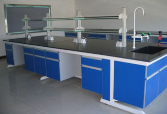 China Corrosion Resistant  Steel Wood  Lab Table Of  Modular Lab Furniture supplier