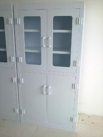 China Custom Hospital Corrosive Medical Storage Cabinet PP Polypropylene , 6 Doors factory