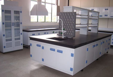 China polypropylene laboratory  furniture/PP laboratory workbench factory