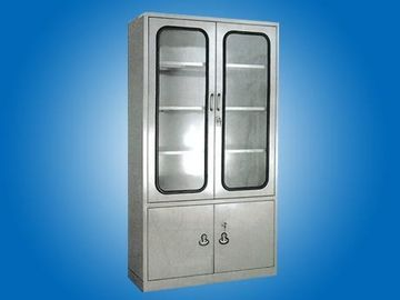 China Hospital furniture  full Stainless Steel Cabinet for Medical Apparatus and Instruments factory