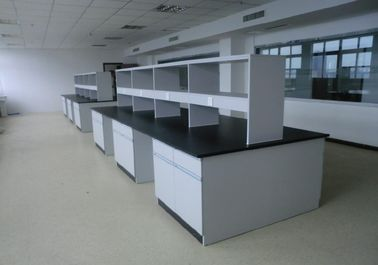 Top strength PP Board Laboratory  Island  Benches Acid And Alkali Corrosion Resistance