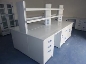 High strength PP Board Laboratory  Casework Acid And Alkali Corrosion Resistance