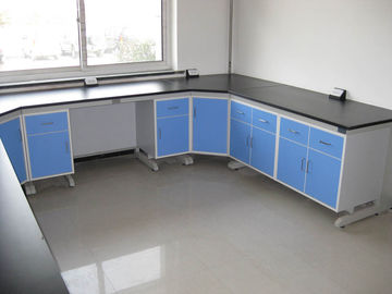 Corrosion Resistance College Modular Lab Furniture With Steel Frame Cabinet